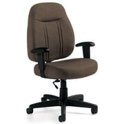 Global Custom High-Back Task Chair, Ultra-Premium Grade, Cork