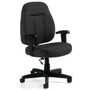 Global Custom High-Back Task Chair, Ultra-Premium Grade, Thunderstorm