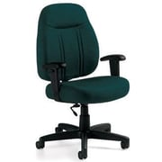 Global Custom High-Back Task Chair, Ultra-Premium Grade, Blue Grass