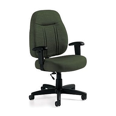 Global Custom High-Back Task Chair, Ultra-Premium Grade, Leaf
