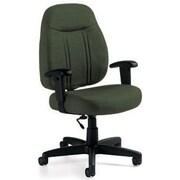 Global Custom High-Back Task Chair, Ultra-Premium Grade, Leaf