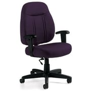 Global Custom High-Back Task Chair, Ultra-Premium Grade, Amythest