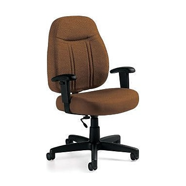 Global Custom High-Back Task Chair, Ultra-Premium Grade, Ochre