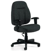 Global Custom High-Back Task Chair, Premium Grade, Java