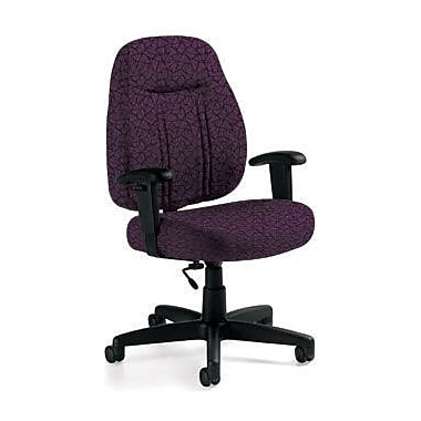 Global Custom High-Back Task Chair, Premium Grade, Tempest