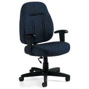 Global Custom High-Back Task Chair, Premium Grade, Artic