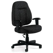 Global Custom High-Back Task Chair, Premium Grade, Carbon