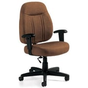 Global Custom High-Back Task Chair, Ultra-Premium Grade, Acorn