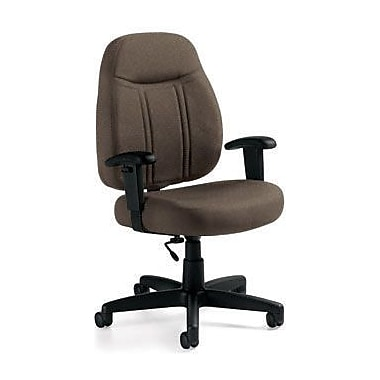 Global Custom High-Back Task Chair, Ultra-Premium Grade, Camel