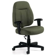 Global Custom High-Back Task Chair, Ultra-Premium Grade, Jade