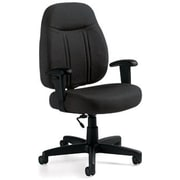 Global Custom High-Back Task Chair, Ultra-Premium Grade, Charcoal