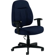 Global Custom High-Back Task Chair, Ultra-Premium Grade, Sapphire