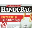 Webster® Handi-Bag Recycled Trash Bags, White, 13 gal.
