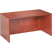 basyx™ by HON BW 60 Rectangular Top Desk, Bourbon Cherry