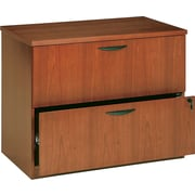 basyx™ by HON BW 2-Drawer Lateral File, Bourbon Cherry