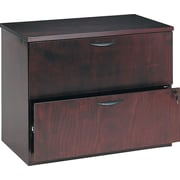 basyx™ by HON BW 2-Drawer Lateral File, Mahogany