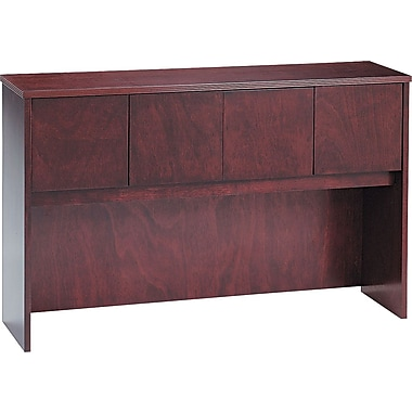 basyx™ by HON BW 60in. Hutch with Doors, Mahogany