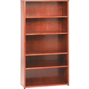 basyx™ by HON BW 5-Shelf Bookcase, Bourbon Cherry