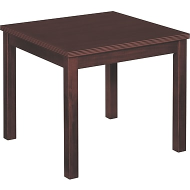 basyx by HON BW Corner Table, Mahogany