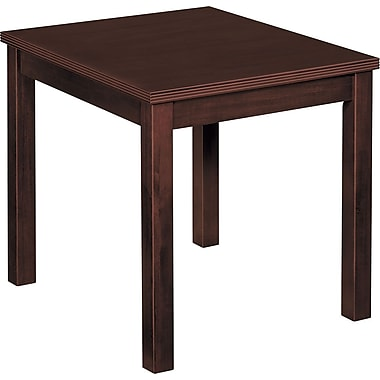 basyx by HON BW End Table, Mahogany