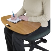 Contour Lap Desk, Natural