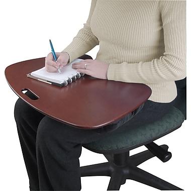 Contour Lap Desk, Mahogany