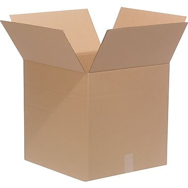 18in.(L) x 18in.(W) x 18in.(H)- Staples Multi-Depth Corrugated Shipping Boxes