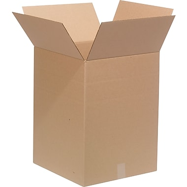18in.(L) x 18in.(W) x 24in.(H)- Staples Multi-Depth Corrugated Shipping Boxes