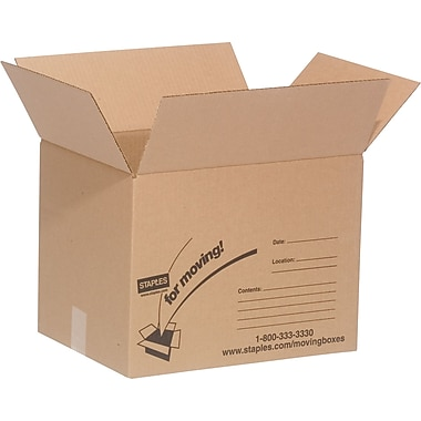 16in.(L) x 12in.(W) x 12in.(H) Staples® Small Box Bundle