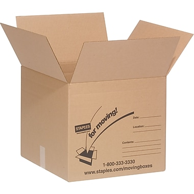 18in.(L) x 18in.(W) x 16in.(H) Staples® Medium Box Bundle