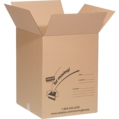 18in.(L) x 18in.(W) x 24in.(H) Staples® Large Box Bundle