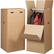 20in.(L) x 20in.(W) x 44in.(H) Staples® Wardrobe Boxes