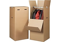 20'(L) x 20'(W) x 44'(H) Staples® Wardrobe Boxes