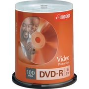 Imation 100/Pack 16X 4.7GB DVD-R, Spindle
