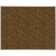Best-Rite Blue Splash Cork Bulletin Board, Aluminum Trim Frame, 6' x 4'