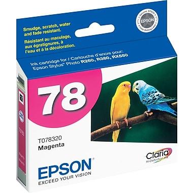 Epson® – Cartouche d'encre magenta, 78 (T078320)