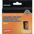 Staples ® Remanufactured High Capacity Black Ink Cartridge Compatible with Dell ® M4640