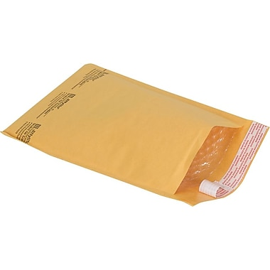 Staples® QuickStrip Bubble Wrap® Cushioned Mailers, #1, 7-1/8in. x 11in., 25/Pack
