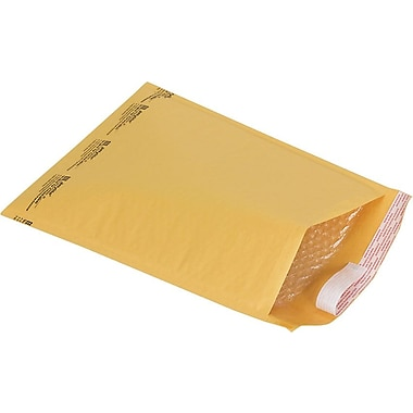 Staples® Bubble Wrap® Cushioned Mailers in Bulk, #5, 10-1/2in. x 15in., 70/Case