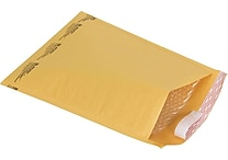 Staples® QuickStrip™ Bubble Wrap® Cushioned Mailers, #5, 10-1/2' x 15', 25/Pack