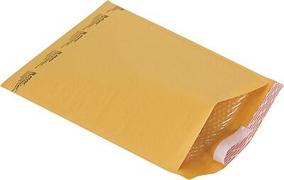 Staples 6 Bubble Mailer Gold Kraft 12 1 2 x18 27226
