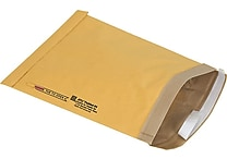 Staples® QuickStrip™ Padded Mailers, #4, 9-3/8' x 13-1/4'