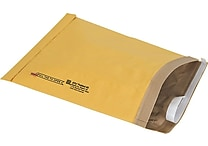 Staples® QuickStrip™ Padded Mailers, #5, 10-3/8' x 14-3/4'