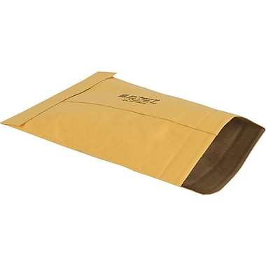 Staples® Ungummed Padded Mailers, #0, 5-7/8in. x 8-3/4in.