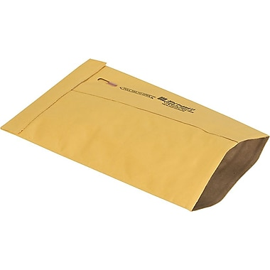 Staples® Ungummed Padded Mailers, #1, 7-1/8in. x 10-3/4in.