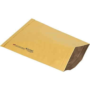 Staples® Ungummed Padded Mailers, #6, 12-3/8in. x 17-3/4in.