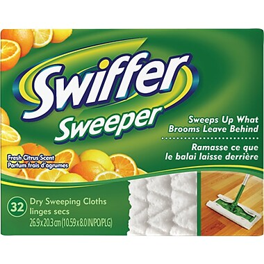 Swiffer Dry Refills, Fresh Citrus, 32-Sheets