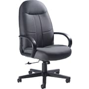 Global Fabric Manager's Chair, Dark Gray