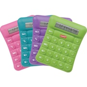 Staples® Pillowtop Calculator, Assorted Colors