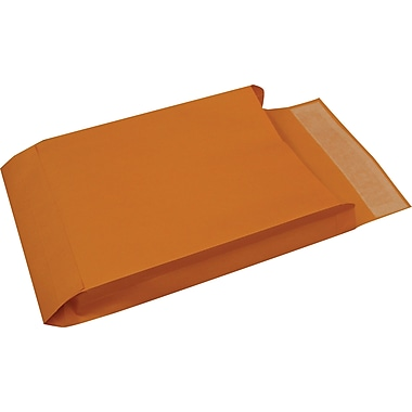 Staples® Brown Kraft QuickStrip™ Expanding Catalog Envelopes